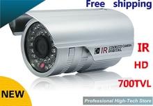 Hot sale HD 700 TVL Sony CCD CCTV camera High line IR LED Security camera outdoor Surveillance System