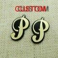 Custom Old English Script Letters  Personalized  Fashion Stud Earrings