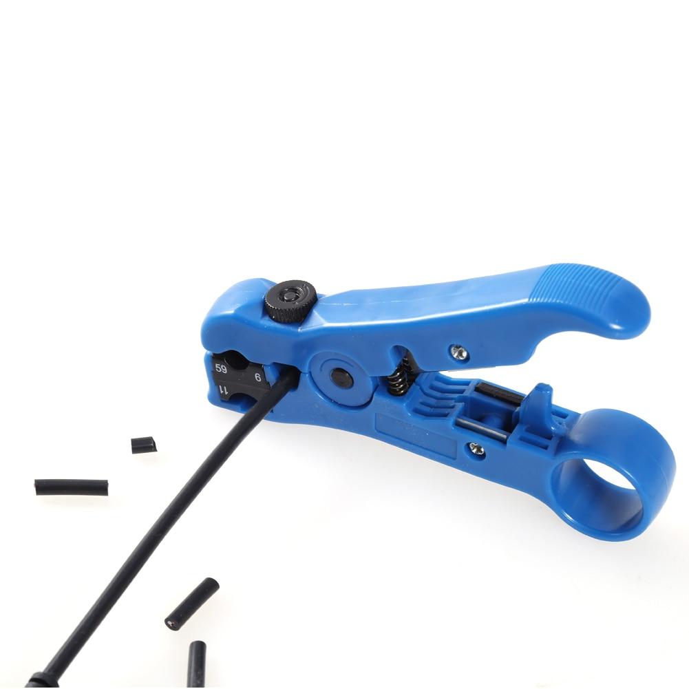 Alicate de cable coaxial rotativo coaxial ajustable Cortador de - Herramientas manuales - foto 3
