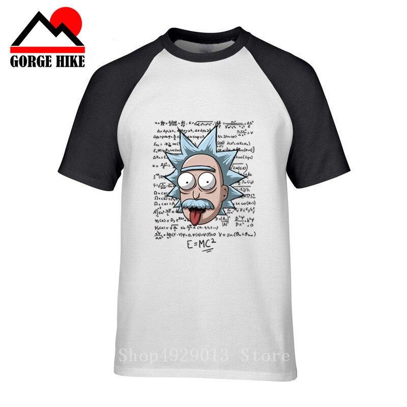 New Geek E=MC2 Yoda Einstein T Shirt Men Rick Morty Novelty Physics Science Albert Einstein Tshirt Parody Sheldon Cooper T-shirt