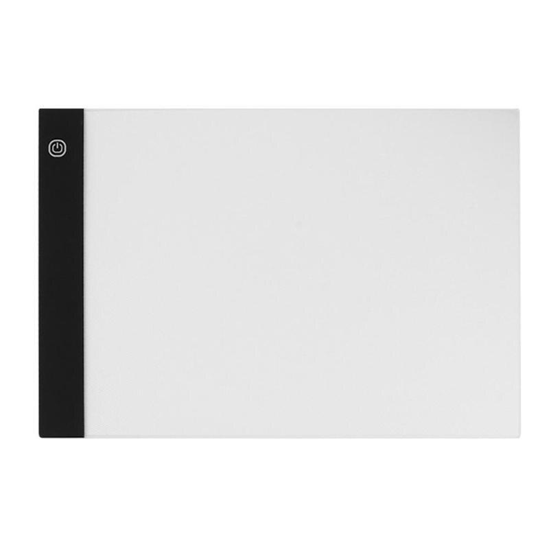 Artista A4 LEVOU Luz Pad Para Anime Pintura Placa de Acrílico LEVOU Cópia Fina Arte Stencil Prancheta Olho-proteção backLight Pad