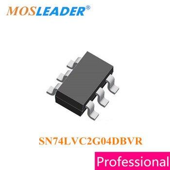 Mosleader SN74LVC2G04DBVR SOT23-6 500PCS SN74LVC2G04 CMOS Original High quality