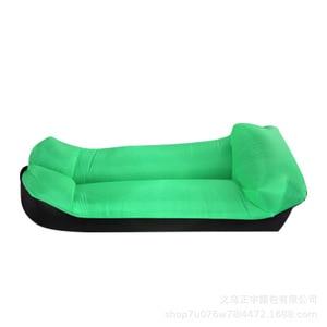 Image 4 - Outdoor Inflatable Air Sofa Holiday Seaside Beach Water Lazy Bone Sofa Wild Sleeping Bag Outdoor Seating Garden Sofa