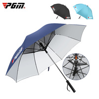 New PGM Golf Umbrella Self contained Electric Fan Safety Steel Shaft In Summer Men Lady Sun Protection UV Umbrellas High Quality