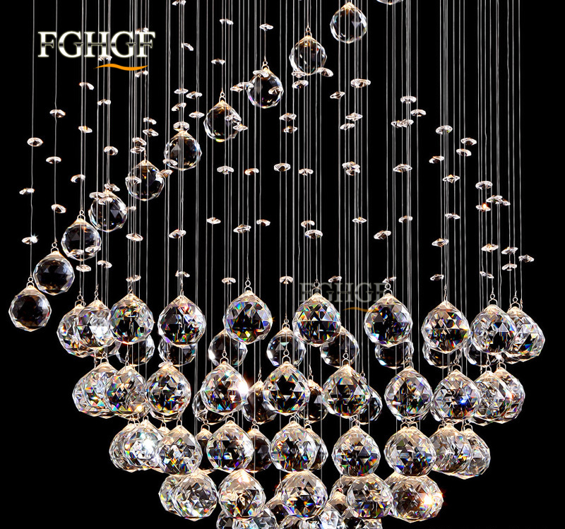 Modern Long Spiral Living Crystal Chandeliers Lighting Lustres Fixture for Staircase Stair Lamp Showcase Bedroom Hotel Hall (1)