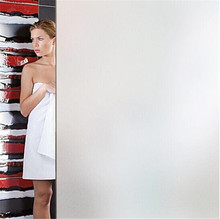 pure white frosting opaque privacy window glass film,static self-adhesive stickers,vinyl cover decals 60*400 cm