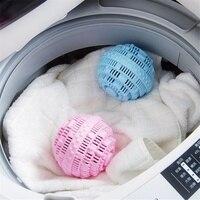 Экологически чистые розовые синие шарики для стирки диски Анион молекул очистки Волшебная стирка волшебный Прачечная Домашний мяч стирка