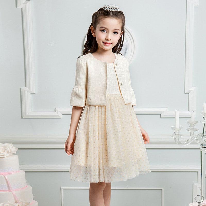 Flower Girl Dresses For Weddings Brand Dress And Coat Two