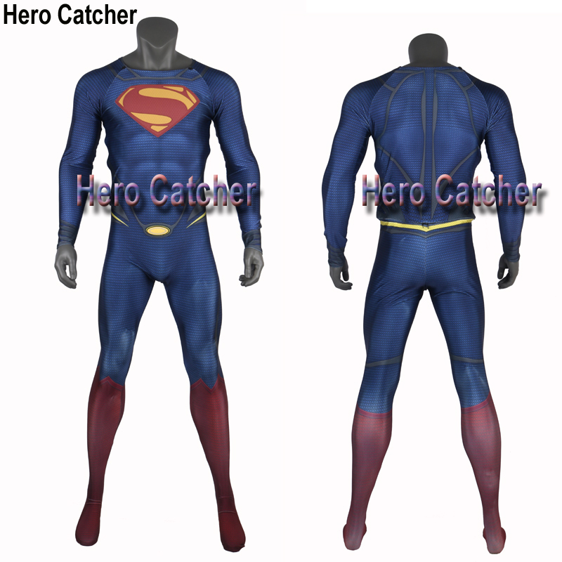 Hero Catcher High Quality Superman suit for brazil buyer