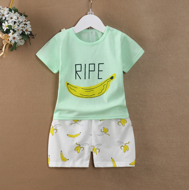 b2cc7685f new born baby clothes set pants kids dresses for toddler boys clothing set  summer baby suit
