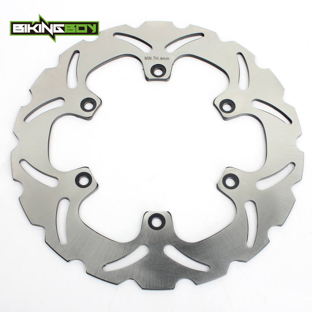 BIKINGBOY Rear Brake Disc Rotor Disk For YAMAHA FZ 750 Genesis 87-92 XJ 900 S Diversion 94-03 FZR 1000 EXUP 90-95 FZS 1000 Fazer тормозные колодки подходят yamaha xj 900 s diversion 95 03 передняя 1 pair 2 колодки