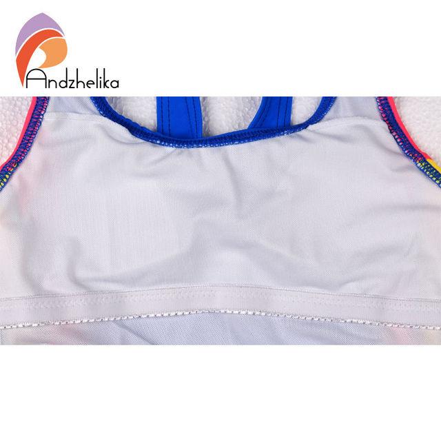 Andzhelika One Piece Swimsuit 2017  Swimsuit for girl Swimwear Children Summer Girl Sport Bodysuit Bathing Suit Child Swim Suit