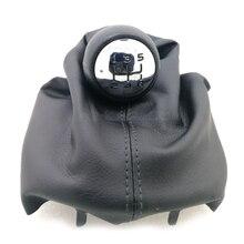 Горячая 5 скоростей PU Farbic Ручка рычага переключения передач Ручка для Citroen C2 C4 Picasso для peugeot 206 306 307 308 3008