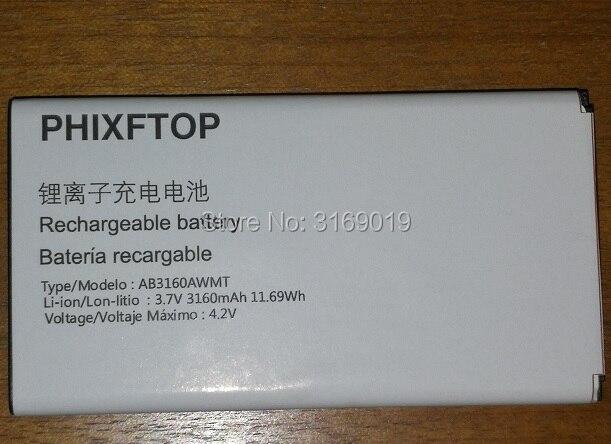 PHIXFTOP batería original para Xenium E570 celular AB3160AWMT para PHILIPS CTE570 teléfono móvil