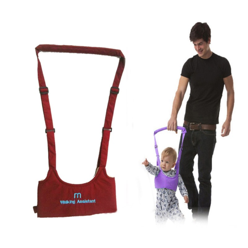 2016 New baby harness walker safety walking assistant stick kids belt safety bag Infant Toddler child leash backpack Cotton mesh