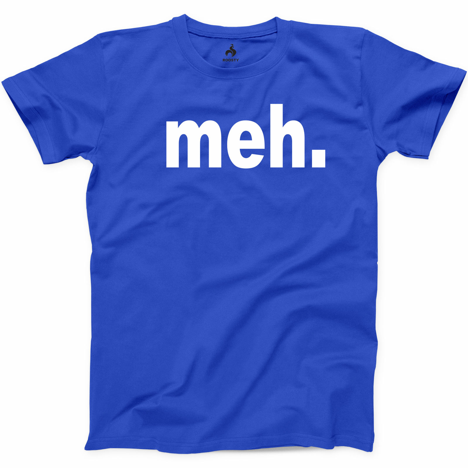 Meh T Shirt Funny TV Show Humor Gamer Geek Dont Care Gift Unisex Tee S-3XL
