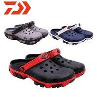 2019 DAWA Fishing Shoes Beach Sandals Outdoor Shoes Garden Light weight New Breathable Slipper Daiwa Men Summer Soft Water Shoes