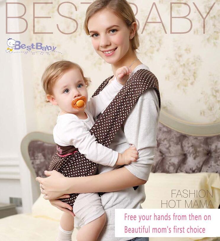 3-24 mois écharpe de portage pour bébé ceinture de transport kangourou écharpe de transport pour les nouveau-nés bébé sac à dos pour enfants sangles de Perforation