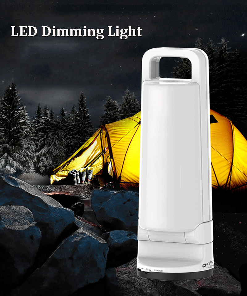 CLAITE Portable Folding 8W LED Dimming Solar Lantern USB Rechargeable Camping Tent Light Outdoor Emergency Light led solar powered portable lanterns rechargeable outdoor emergency camping lantern lamp tent top hook lighting