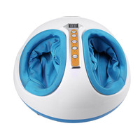 Electric Antistress Foot Massager Vibrator Foot Health Care Heating Therapy Shiatsu Kneading Air Pressure Foot Massage Machine