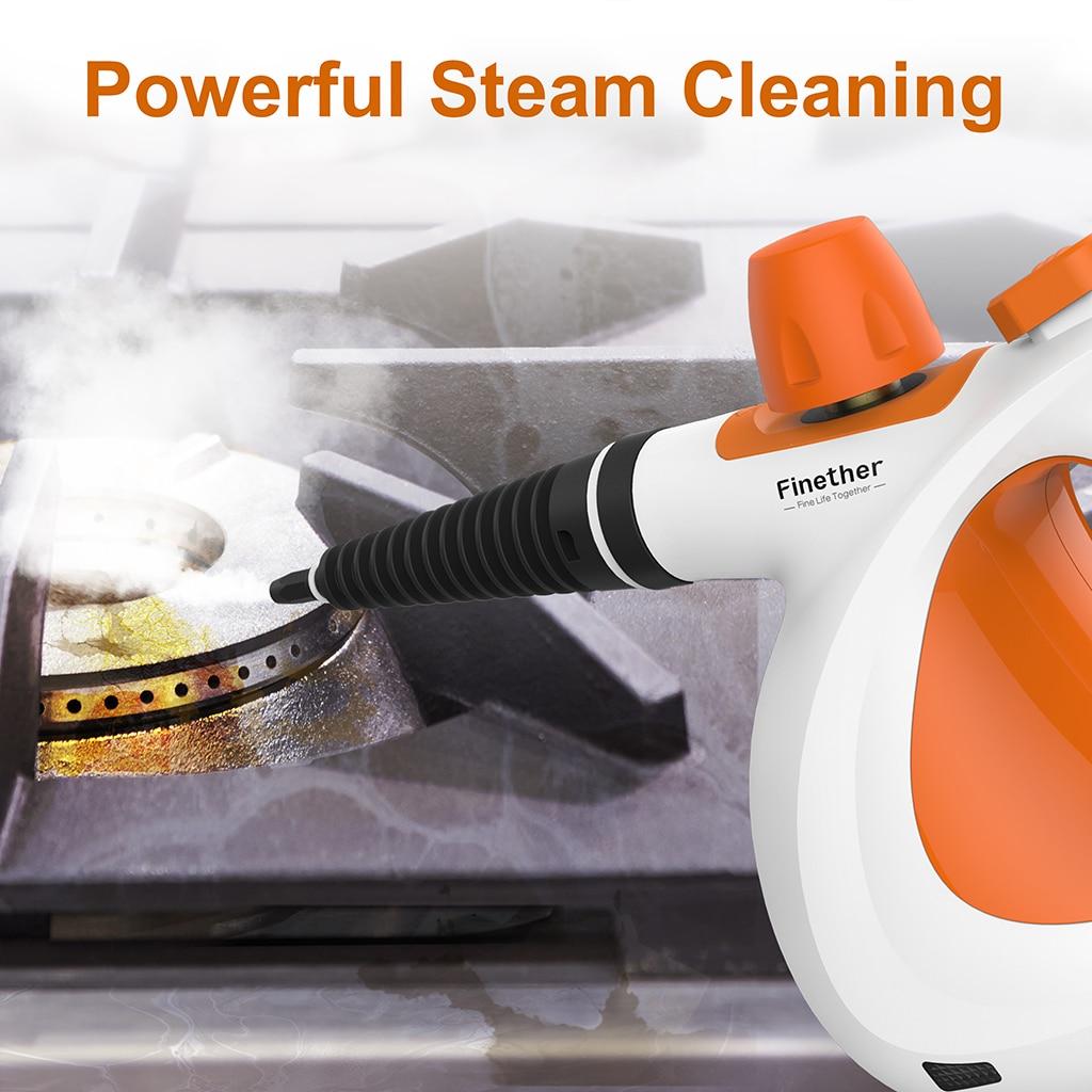 Finether Handheld Vapor Steam Cleaner Sanitizer Bathroom Kitchen
