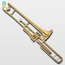 State key горка тромбон Бас тромбон маленький хвостовик Bb/золотой Латунный Колокольчик Китай