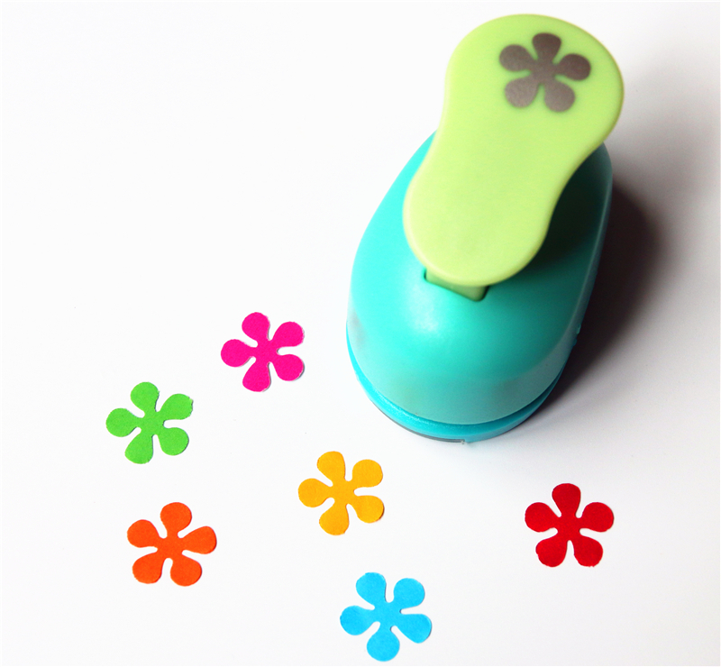 free shipping flower paper punch 15mm 5  8 u0026 39  u0026 39  shapes craft