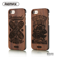 Remax Natural Wood Phone Case For IPhone7 7Plus Retro High Quality Shockproof Protective Coque For Iphone
