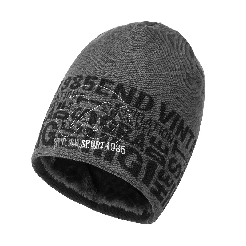 Men Winter Hats Warm Thick Soft Knitted   Beanies   Hats Cotton Winter Accessories   Skullies   &   Beanies   Male   Beanies   Caps Autumn