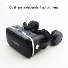 KZVR Glasses 6 0 Pro Stereo VR Headset Virtual Reality Helmet font b Smartphone b font