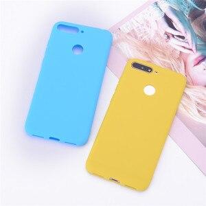 Image 5 - Y6 2018 Silikon Fall auf für Huawei Y6 Prime 2018 fall Weichen TPU Rückseitige Abdeckung Für Coque Huawei Y6 2018 Y 6 Prime 2018 Telefon Fällen