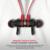 Swith de succión magnética mini Bluetooth inalámbrico de auriculares estéreo bluetooth deporte auriculares bluetooth de la música auriculares con micrófono