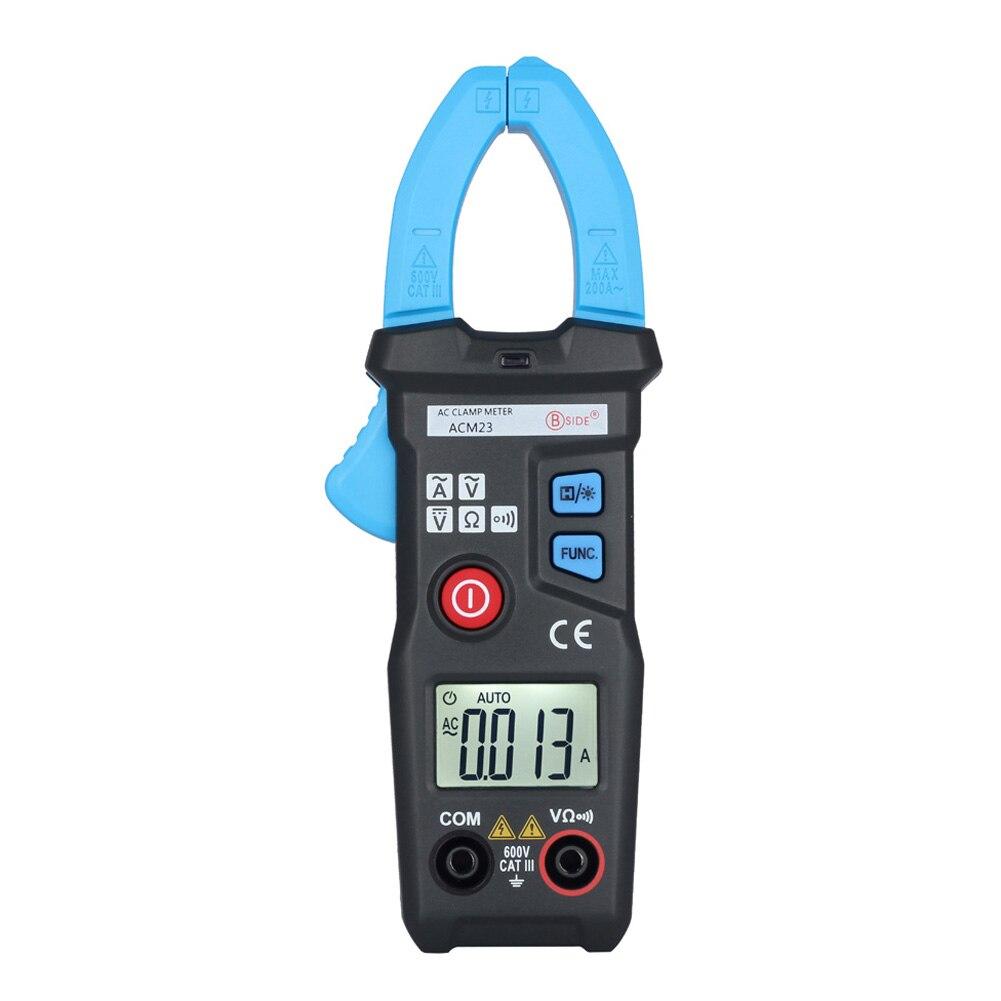 ACM23 Intelligent Digital Clamp Meter Multimeter AC DC Current Volt Tester High Quality  цены