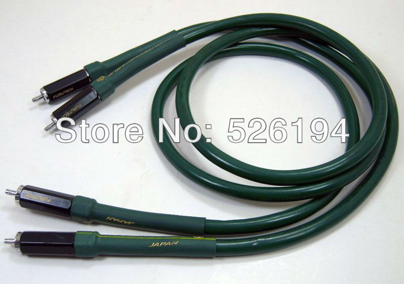 Free shipping  Alpha FA-220 audio Interconnect RCA Cable with furuech RCA plug стоимость