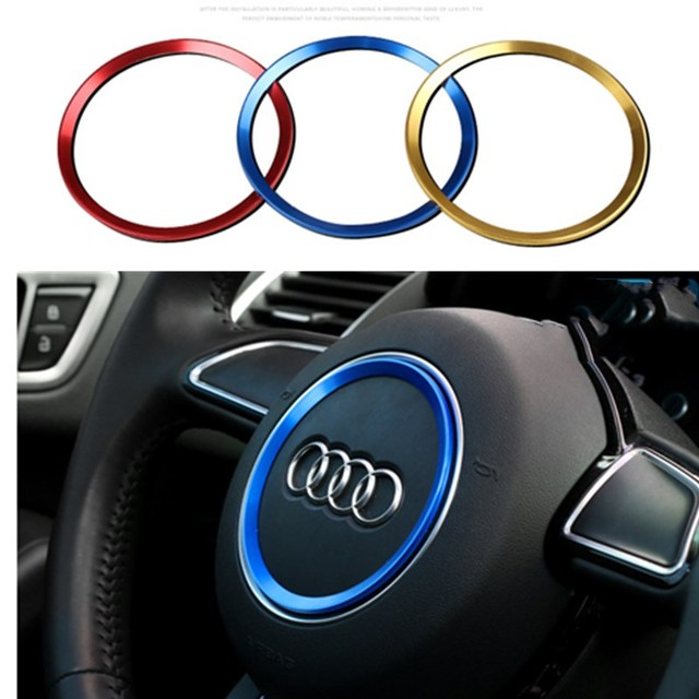 Car Interior Steering Wheel Accessories For Audi A AL Q Q A AL - Audi a3 interior
