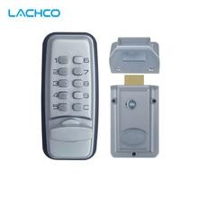 LACHCO механический кодовый замок цифровой техники клавиатуры ввода пароля блокировки дверей Нержавеющаясталь цинковый сплав серебра L17005
