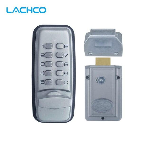 Lachco Mechanical Code Lock Digital Machinery Keypad Password Entry