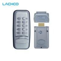LACHCO Mechanical Code Lock Digital Machinery Keypad Password Entry Door lock Stainless Steel Zinc Alloy Silver L17005