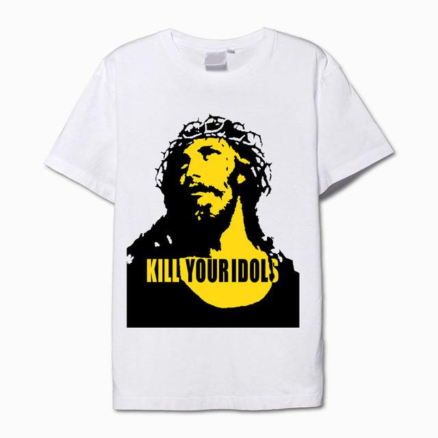 Matar o seu ídolo concerto dos guns n' roses ao vivo camisa da forma t