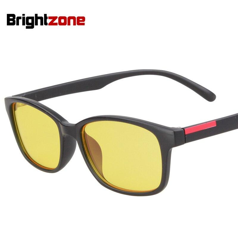 Brightzone anti azul rayos ordenador gafas Gafas para leer resistente a la radiación ordenador Gafas negro con el caso 5020