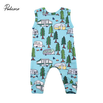 Pudcoco Newborn Baby Girl Boys Clothes New Style Sleeveless Romper Jumpsuit Playsuit Clothes Outfit 0-24 pudcoco cute newborn kids baby girl infant lace romper dress jumpsuit playsuit clothes outfits