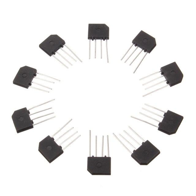 10 قطعة 3A 1000 V KBP307 مقوم الجسر الثنائي KBP 307 الطاقة ديود إلكترونيكا componentes