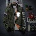 Новые мужские куртки отдых локомотив бейсбол равномерное светоотражающие одежды мужчин и женщин мужская мода пальто
