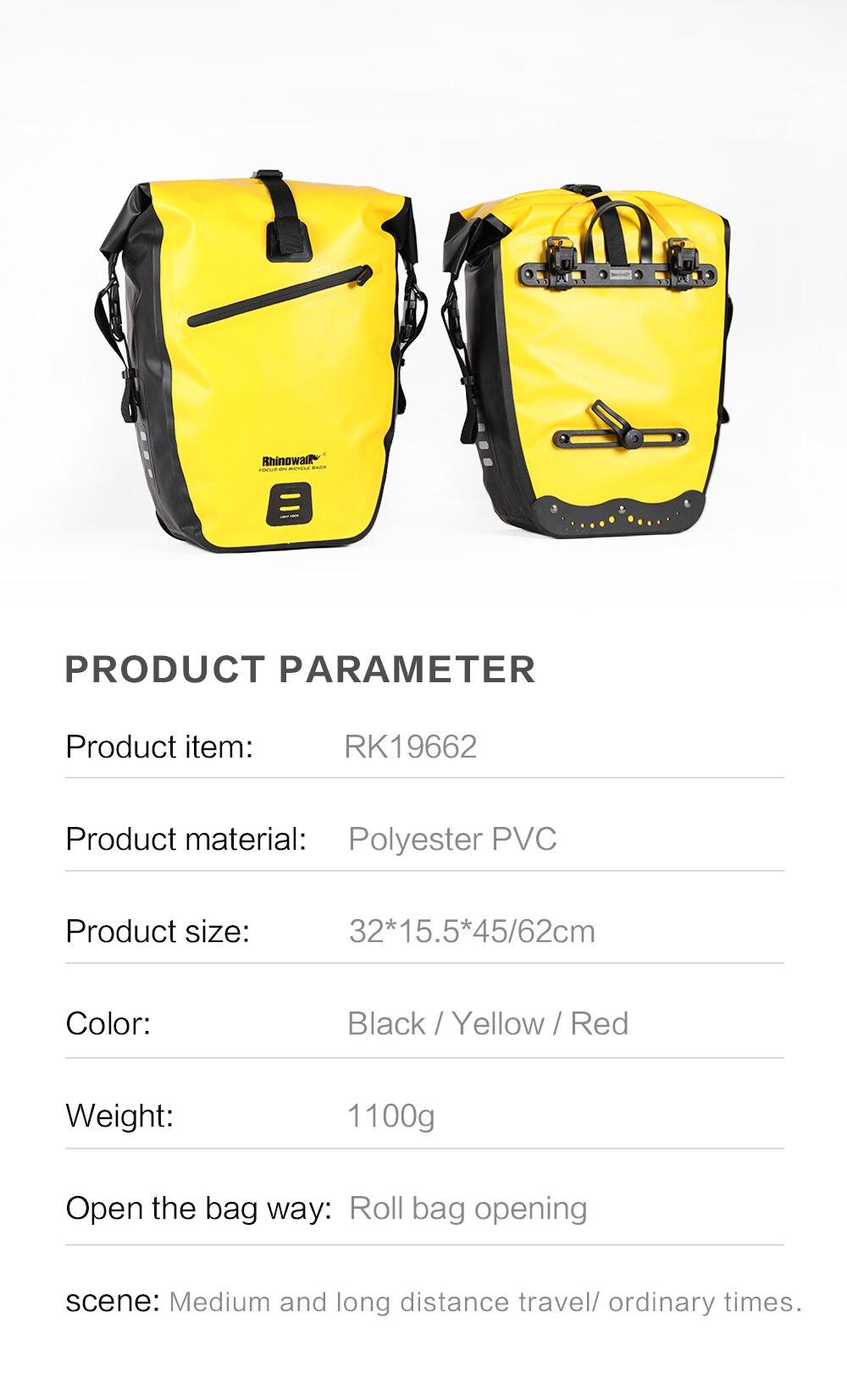 Waterproof Bike Pannier Bag (21)