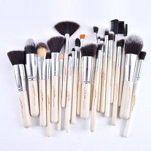 Image 2 - JAF 24pcs High Quality Makeup Brushes Tools, Professional Vegan Makeup Brush Set, Premium Makeup Brush Kit J2434Y W