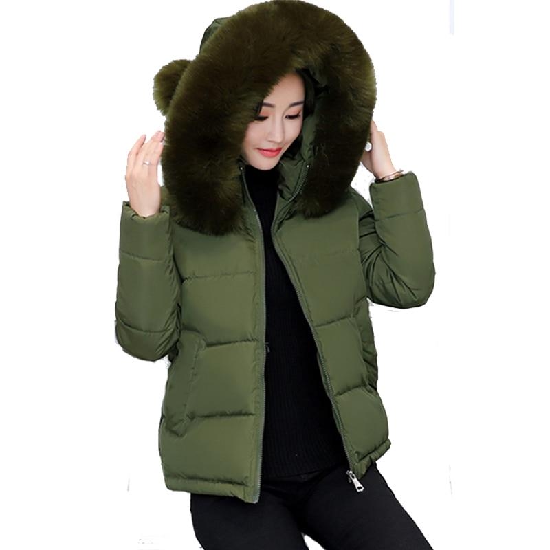 Schlank Mit Kapuze Frauen Winter Jacke Outwear Für Frauen Winter Jacke Kurze 2019 Neue Jaqueta Feminina Inverno Damen Mantel Kurzen Parka Heimtextilien