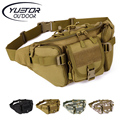 Outdoor Hiking Fishing Army Wallet Waist Pack Sports Fanny Pack Men Molle Military Equipment Tactical Waist Bag