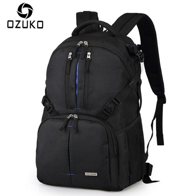 OZUKO Multifunctional Camera Bag Waterproof Backpacks Digital DSLR Casual  Men Women School Backpack Laptop Bag Nikon a7a7fb9de3881