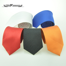 Genuine CHCUM Silk Woven Highlights Neck Tie Classical Business Ties For Men 2017 Dress Collocation For Wedding Party Tie Brand
