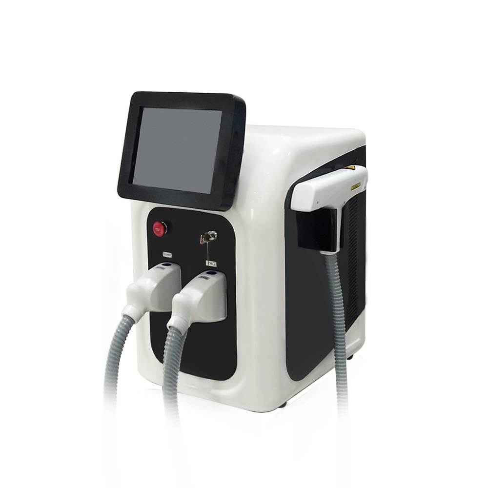 Image 3 - 2 in 1 Professional OPT SHR IPL Fast Hair Removal Machine Nd Yag Laser Tattoo Removal Elight Skin Rejuvenation MachineFace Skin Care Machine   -